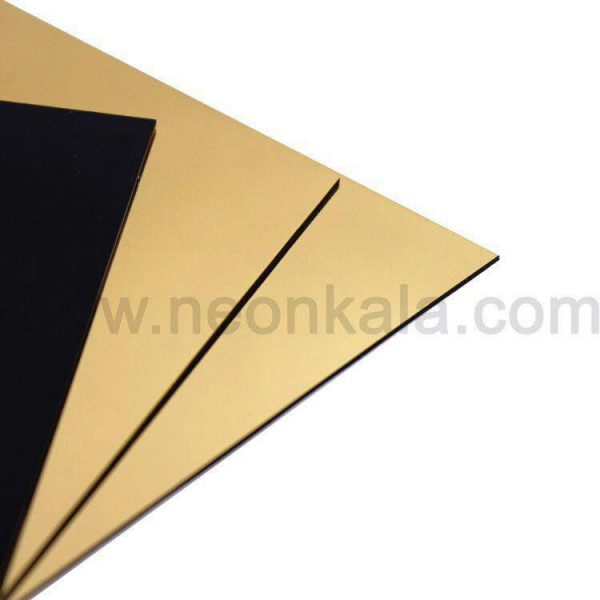 خرید ورق دو لایه مولتی استایل طلایی براق